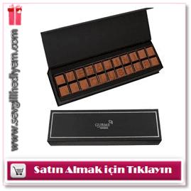 Kişiye Özel Sütlü Harf Çikolata 22 Karakter