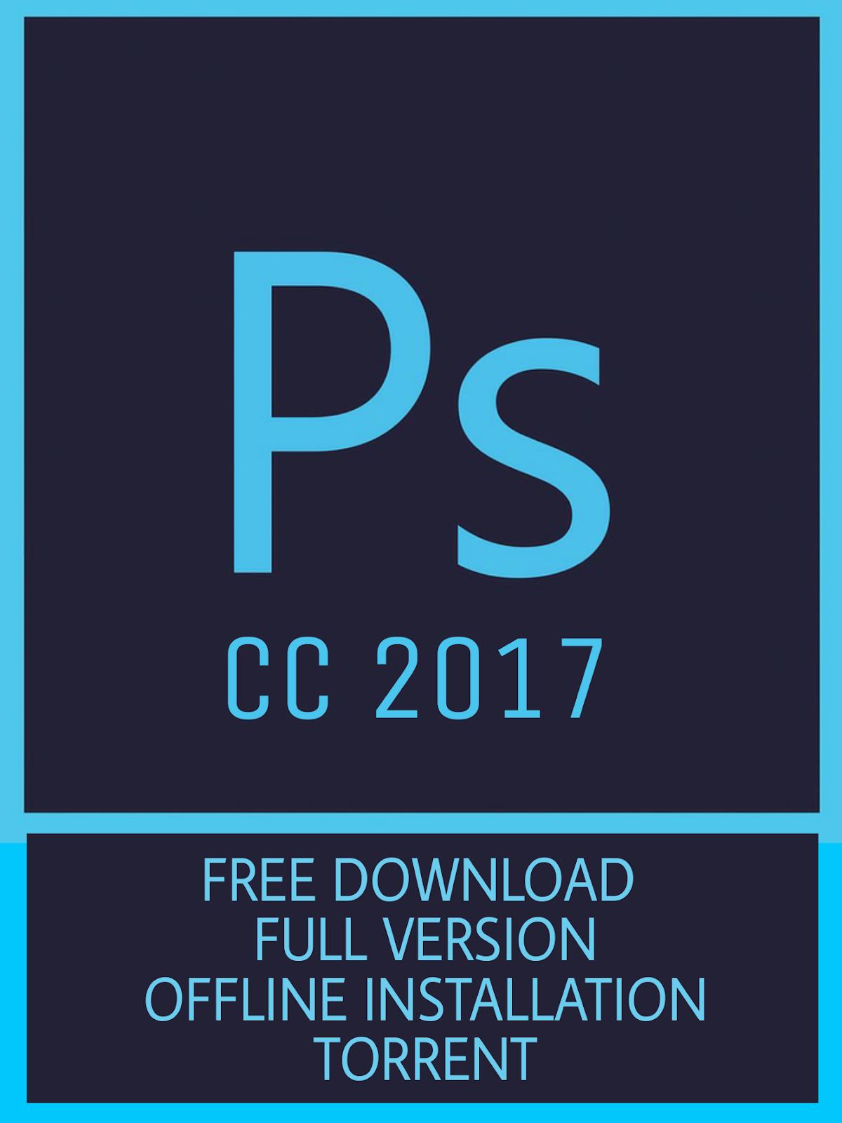 photoshop cc 2017 torrent