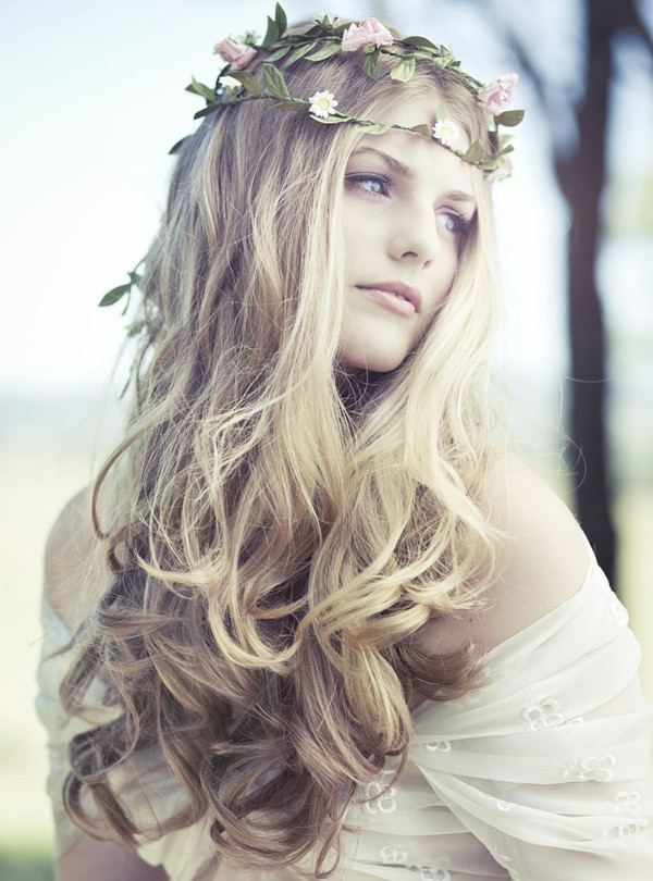 Artistic Hairstyles For Boho Bridal Look Long Hair