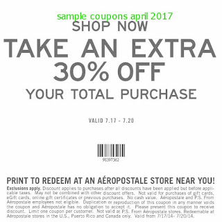 free Aeropostale coupons for april 2017