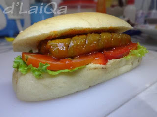 Simple Hot Dog ala Rika