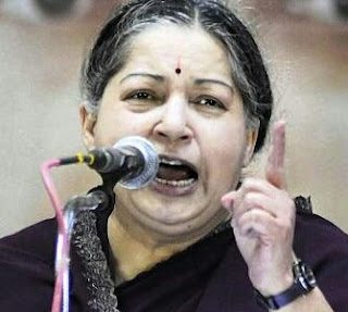 Jayalalitha in anger