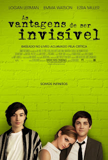 Pôster nacional e crítica de AS VANTAGENS DE SER INVISÍVEL (The Perks of Being a Wallflower)
