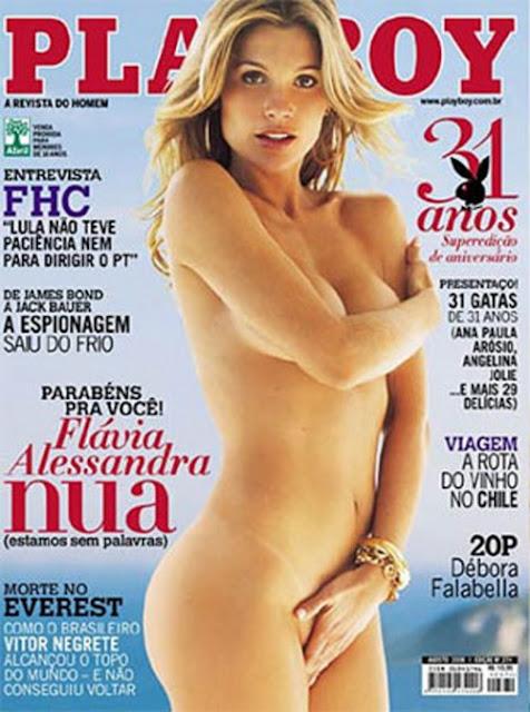 Flávia Alessandra na Playboy 2006