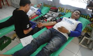 Karang Taruna & PMI Kolaborasi  Gelar Donor Darah
