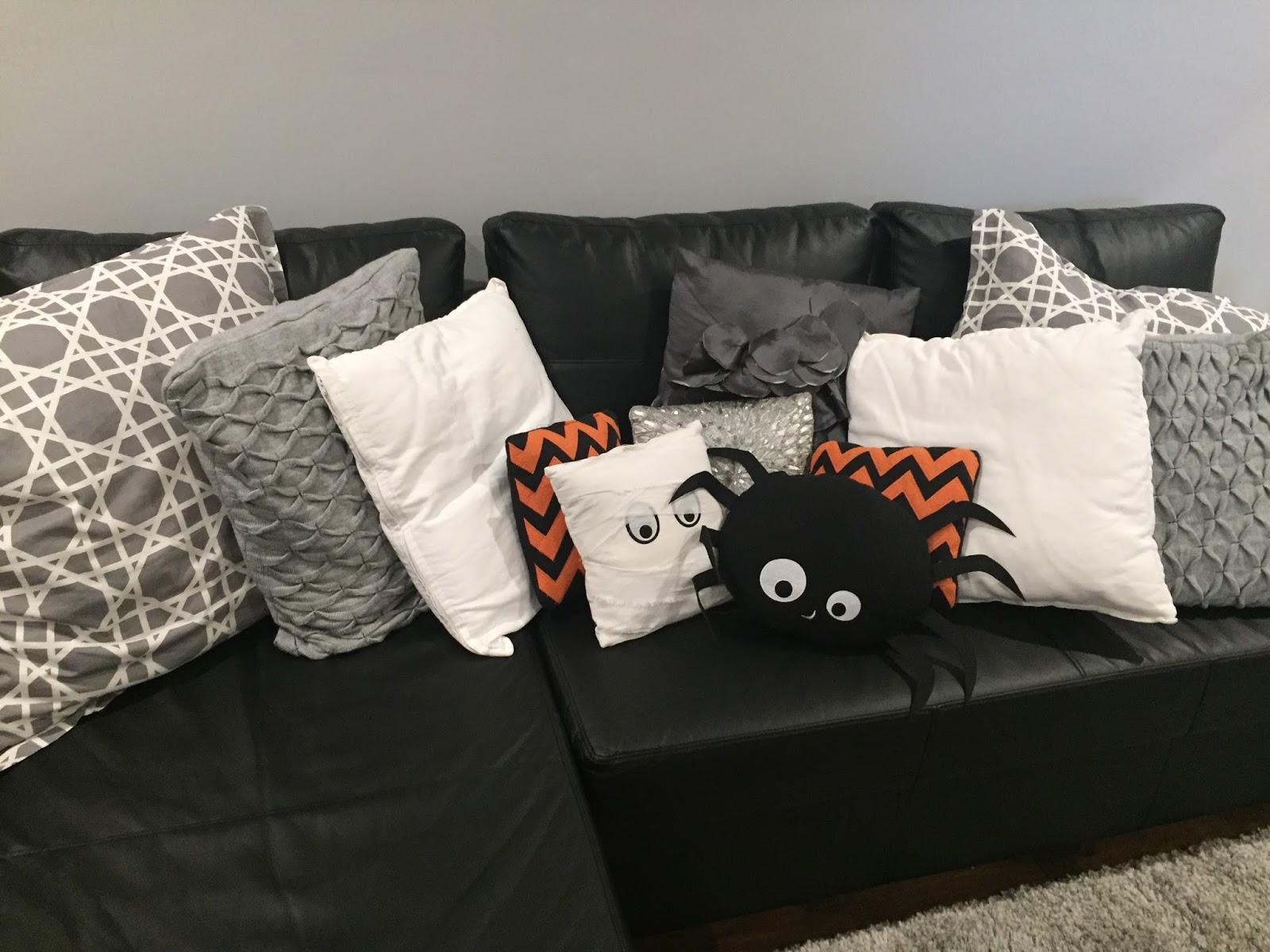 Perfect Orange u Black Pillow Mummy Ghost Pillow Spider Pillow from Target