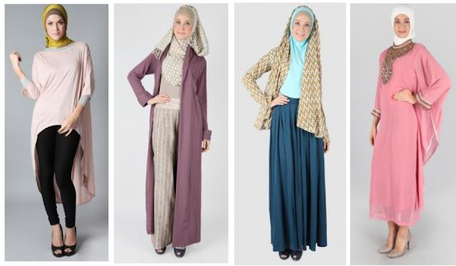 Desain Baju Muslim Modern Untuk Pesta Terbaru