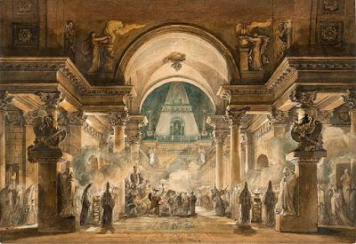 the funeral procession of agamemnon
