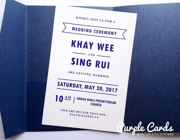 Wedding invitation card johor bahru all the best ideas about marriage wedding card malaysia by purplecollection modern stopboris Image collections