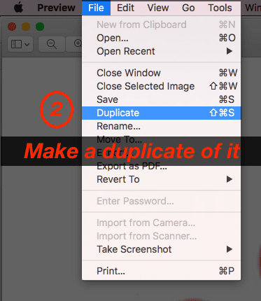 How to check wether image has alpha transparency or not using preview app