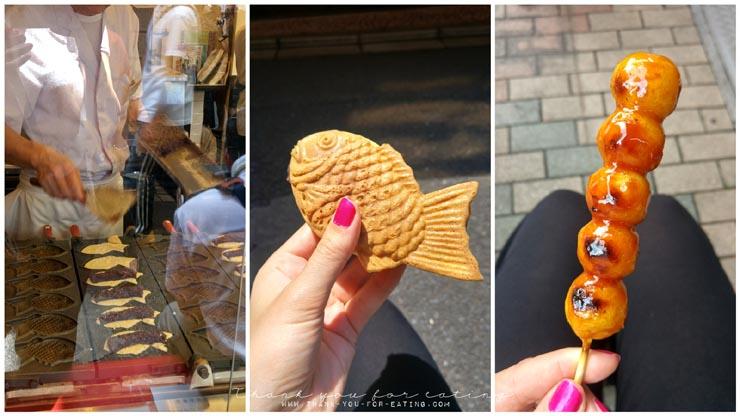 Street Food in Tokyo: Dango & Taiyaki