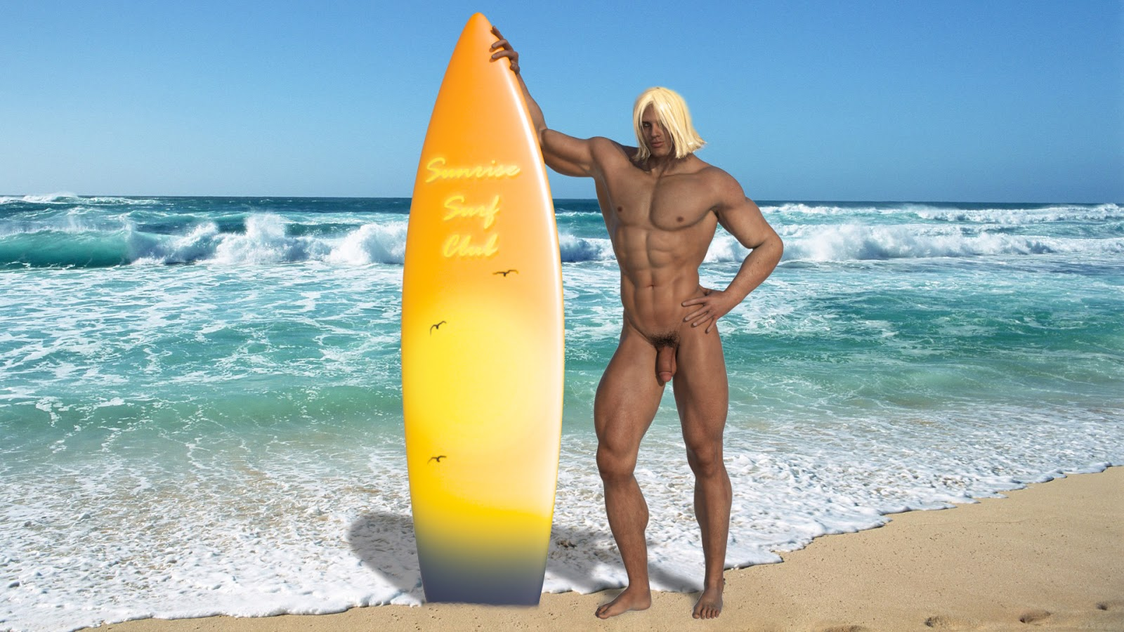 Hard surf gay