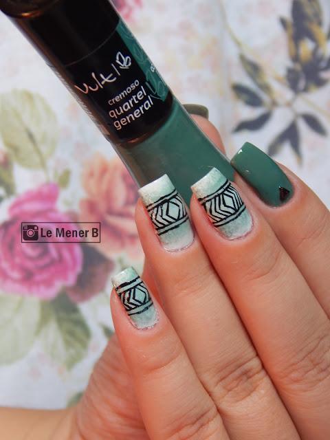 nail-art-verde