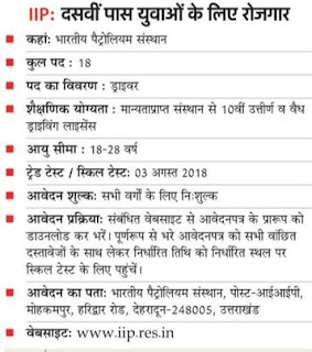 10th 12th Pass Govt Jobs 2018 Freshers Students 6,000 Opening