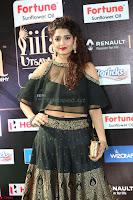 Ritika Singh in a Ethnic Deep Neck Dark Green Choli Ghagra at IIFA Utsavam Awards March 2017 ~ 057.JPG