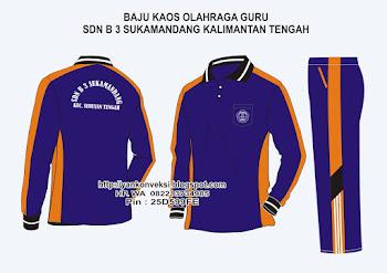 Baju Olahraga GURU Pesanan SD Seruyan KALIMANTAN TENGAH