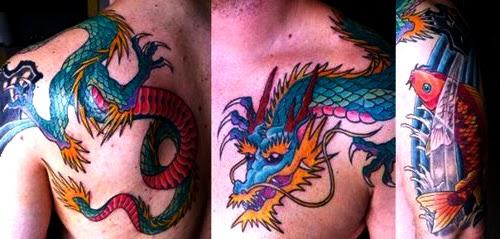 Desain Gambar Tato Naga Beserta Maknanya Gambar Tips Info Tattoo Tato Terbaru