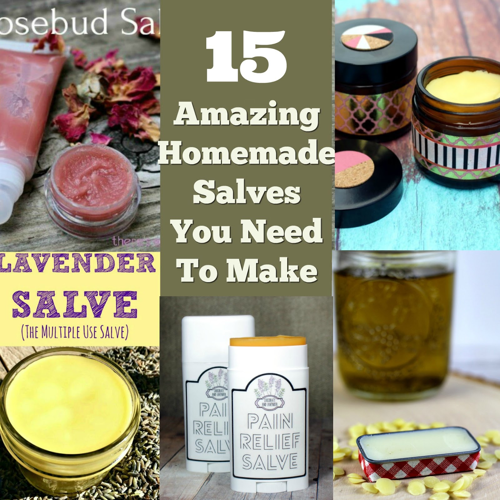 19 Amazing DIY Healing Salves For Every Skin Type forecast