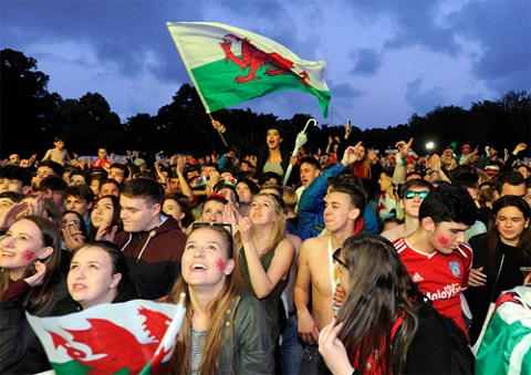 Xứ Wales đang giương cao ngọn cờ chiến đấu ở Euro 2016.