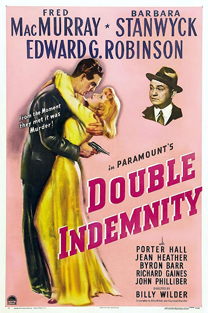 Double Indemnity 1944 movie poster