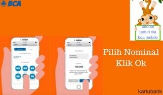 Gambar 3 - 10 Langkah Mudah Cara Tarik Tunai di ATM dengan BCA Mobile