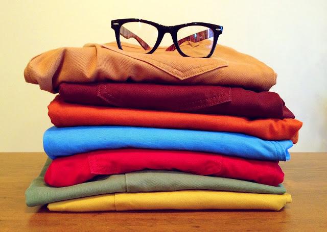 Wymieniamy szafę na letnie ubrania