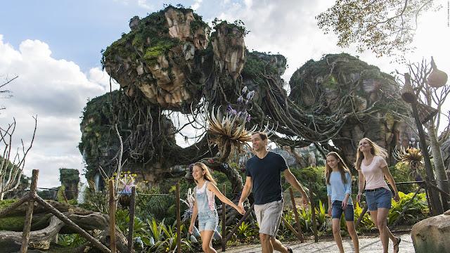 O mundo Avatar em Orlando na Disney