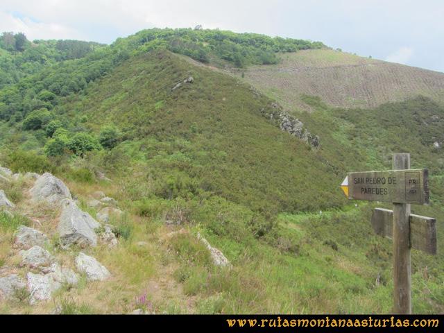 Ruta Hoces del Esva: Cruce a San Pedro de Paredes