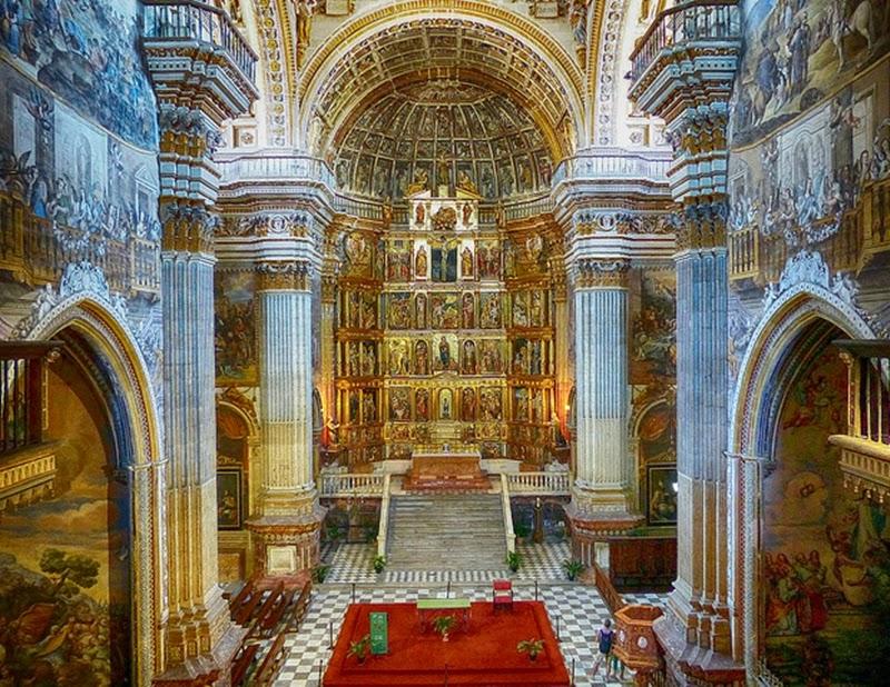 La iglesia del monasterio jerónimo de la Concepción de Granada