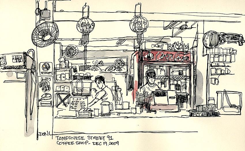 Meet The Correspondents Singapore Don Low Urban Sketchers
