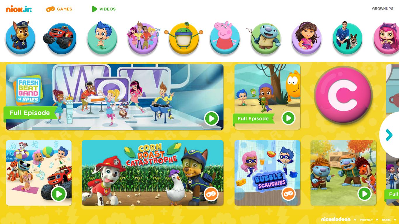 Nickalive Nickelodeon Usa Unveils Brand New Nickjr