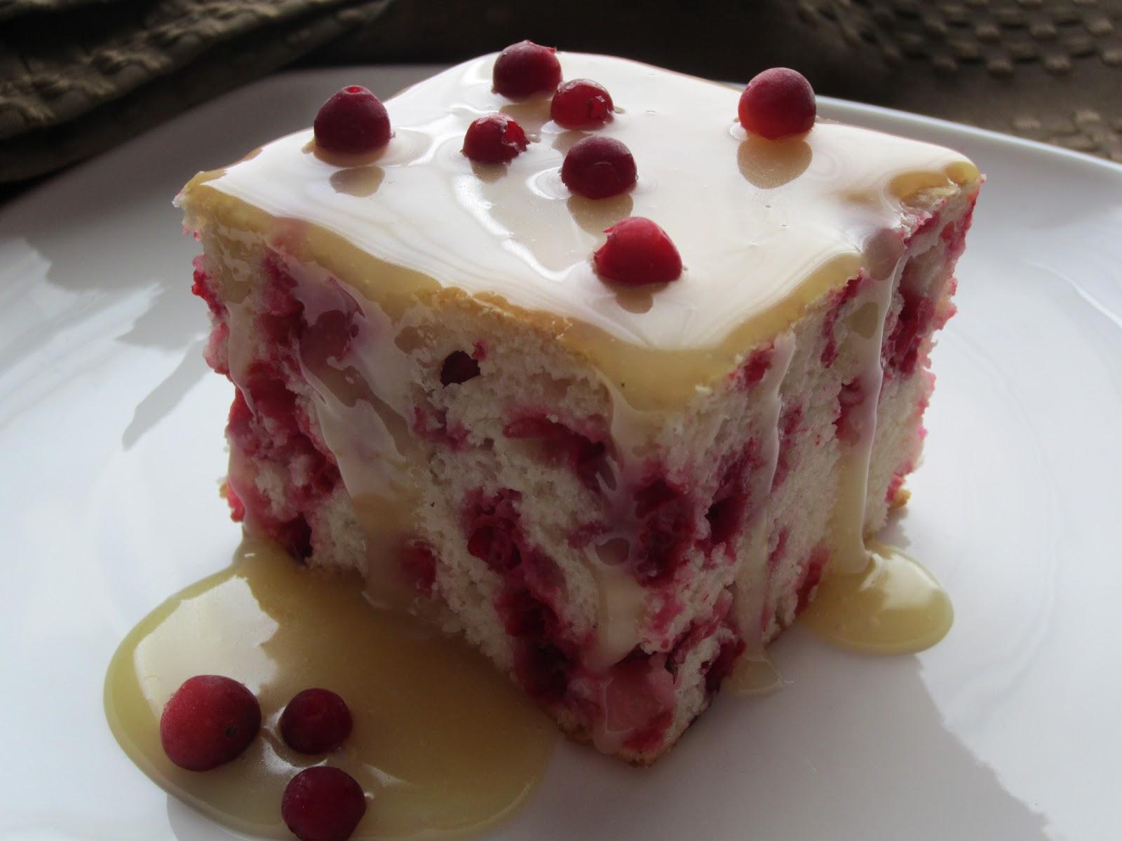 Cranberry Snacking Cake Recipe