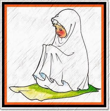 Gambar Animasi Cewe Sholat Dan Berdoa Dp Bbm Aneh Lucu Gokil
