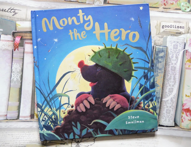 What We've Been Reading August 2018 Monty The Hero by Steve Smallman childrens book review autistic and pregnant autistic mum life sharing pregnancy and parenting experiences from the autism spectrum
