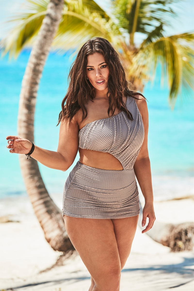 Ashley Graham x Swimsuits For All Summer 2019 Campaign