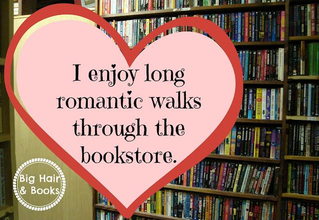 Long romantic walks through the bookstore