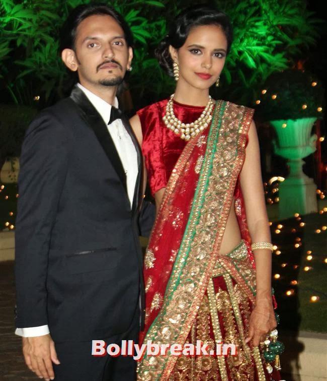 Vishesh Bhatt, Bollywood Babes at Vishesh Bhatt Wedding Reception