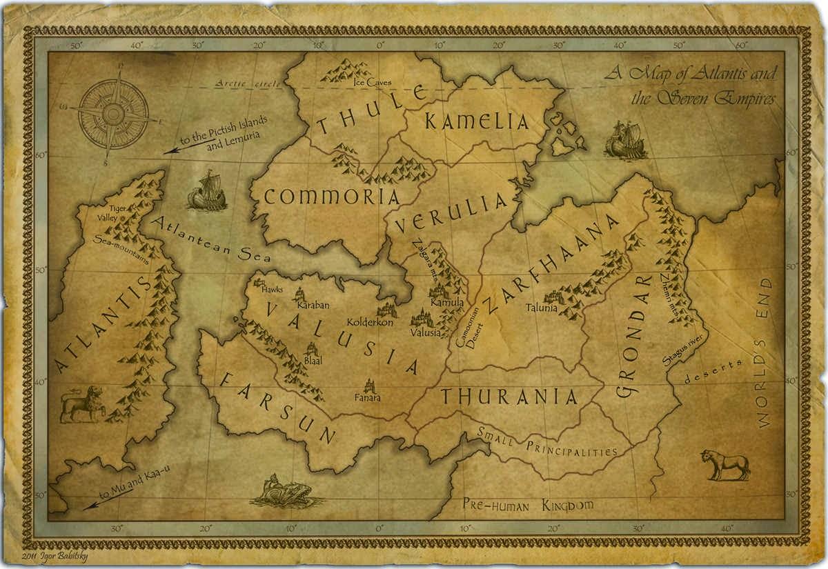 Era Thuria mapa