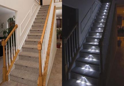 HOME SWEET HOME  ristrutturare casa e dintorni SCALE E LED quel gradino da segnalare
