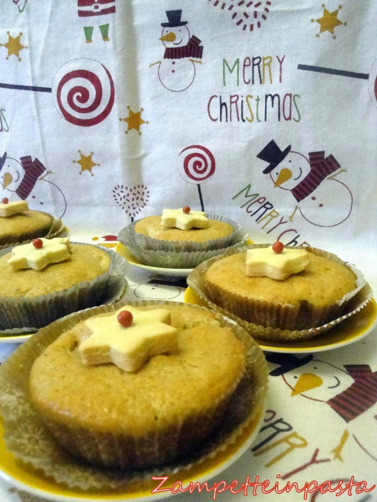 Muffin pere e zenzero