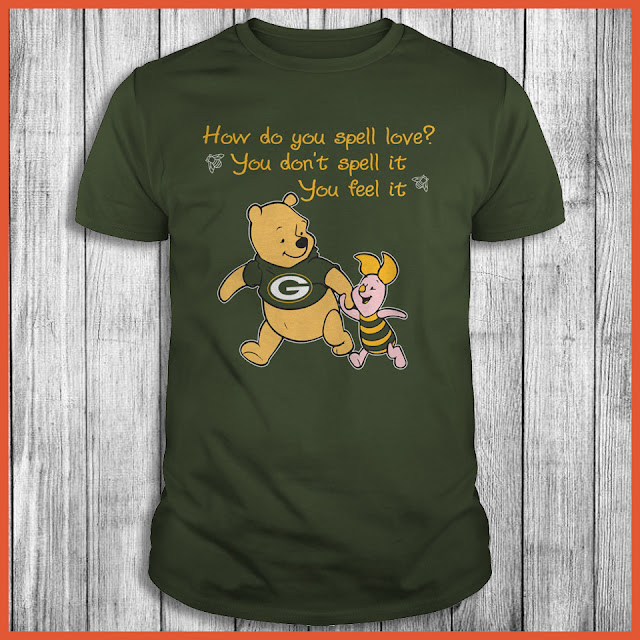 Green Bay Packers - Winnie the Pooh T-Shirt
