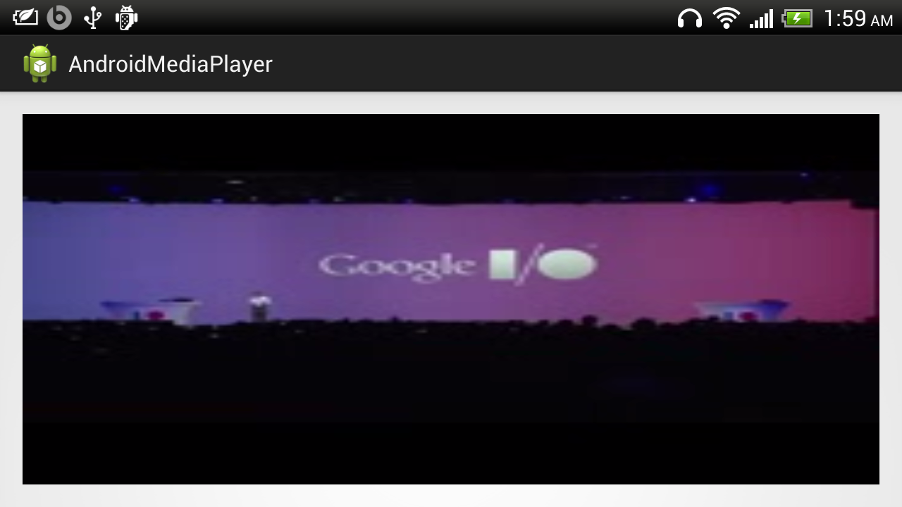Android-er: Simple example to play stream video from