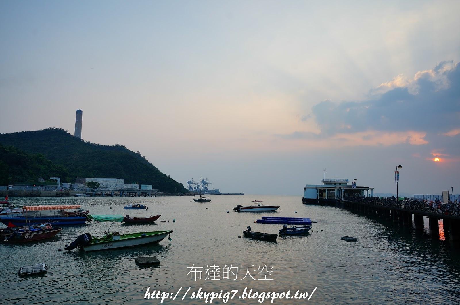 【香港】南丫島 ~ 布達的天空