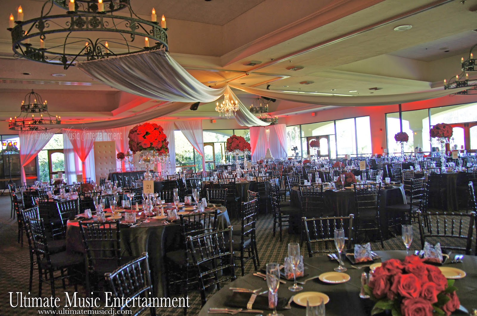 The Party Started With Sounds Of Ultimate Music Entertainment As Bride And