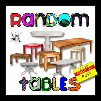 Free GM Resources: Random Tables from Wizarddawn