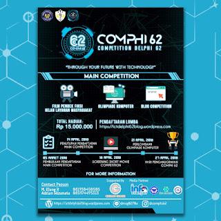 Event Competition Delphi (COMPHI) 62 2018 SMAN 1 Cianjur