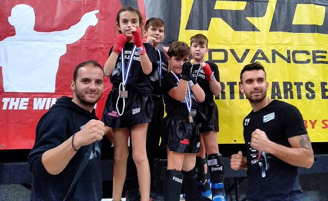 Με επιτυχίες επέστρεψε η σχολή Art of Fight από το Πανελλήνιο Πρωτάθλημα Kick Boxing