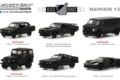 Greenlight Black Bandit Series 19