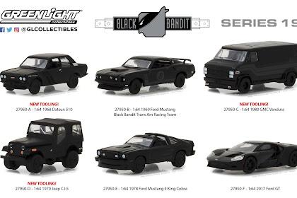 Greenlight Black Bandit Series 19