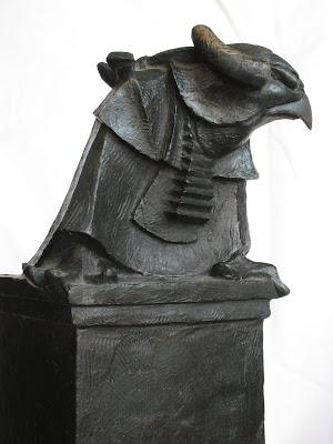 Detail: Advocates. (Bronze)  Artist: William Girard